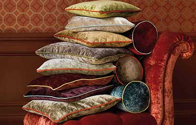 Rossini Velvet Collection - Mulberry Home