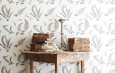 Larkhill Wallpaper Collection - GP & J Baker