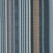 Festival Stripe Embroidery Indigo SKU FD280-H10