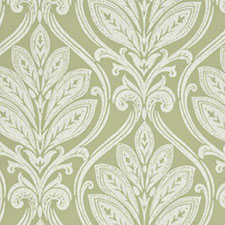Ryecote Damask Willow/Ivory SKU BW45048-7