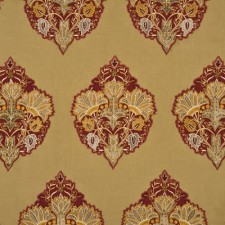 Alexandria Silk/Linen Red/Gold SKU FD691-V102