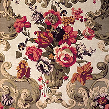 Floral Rococo Taupe SKU FD101!523-N101