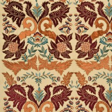 Constantine Silk Linen Paprika/Red SKU FD690-V148