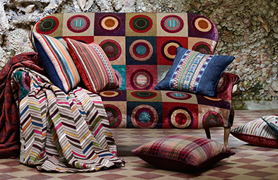 Designed to inspire fabulous interiors, these unique designs can make the perfect singular statement or work in harmony with the other stunning fabrics